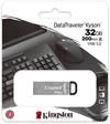 Kingston Technology - DataTraveler Kyson 32GB USB 3.2 Metal Flash Drive