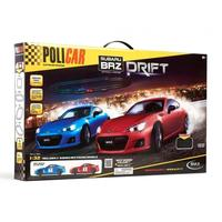 Policar - Subaru BRZ Drift Track Set (Slot Car Set)