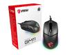 MSI CLUTCH GM11 RGB Optical Gaming Mouse - USB