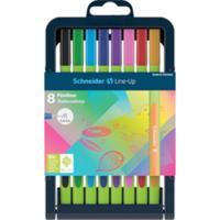 Schneider - Fineliner Line-up Pen Case Stand 8 Pens