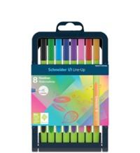 Schneider - Fineliner Line-up Pen Case Stand 8 Pens - Cover