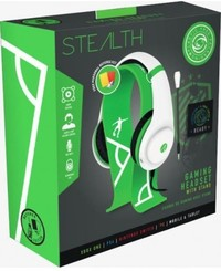 Stealth Gaming - Headset & Stand Bundle - Green/White - Referee Edition (PC/Gaming)