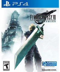 Final Fantasy VII Remake (US Import PS4) - Cover