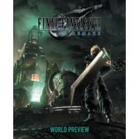 Final Fantasy VII Remake: World Preview - Square Enix (Hardcover)