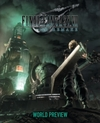 Final Fantasy VII Remake: World Preview - Square Enix (Hardcover)