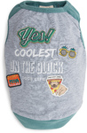 Dog's Life - Coolest On the Block Tee - Green (Large)