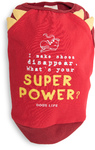 Dog's Life - Super Power Tee - Red (X-Large)