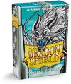 Dragon Shield - Japanese Size Sleeves - White Fulgor (60 Sleeves)