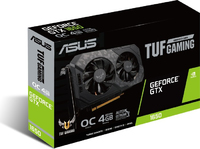 ASUS NVIDIA GeForce TUF Gaming GTX 1650 OC 4GB DDR6 Gaming Graphics Card - Cover