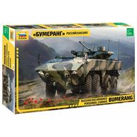 Zvezda - 1/35 - Russian 8X8 Armored Personnel Carrier Bumerang (Plastic Model Kit)