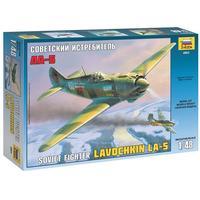 Zvezda - 1/48 - Soviet Fighter Lavochkin LA-5 (Plastic Model Kit)