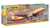 Zvezda - 1/144 - Tupolev Tu 204-100 (Plastic Model Kit) - Cover