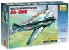 Zvezda - 1/72 - LA-5FN Soviet Fighter (Plastic Model Kit)