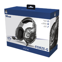Trust - GXT 488 Forze Gaming Headset Grey (PS4) - Cover