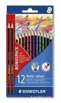 Staedtler - Noris Club Colouring Pencils 12'S Plus 2 Hb Pencils Assorted