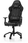 DXRacer - Valkyrie V03-N PU Leather Gaming Chair - Black