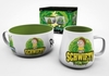Rick and Morty - Get Schwifty Gift Set (Curved Mug & Bowl)