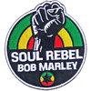 Bob Marley - Soul Rebel Woven Patch