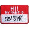 Eminem - Slim Shady Name Badge Woven Patch