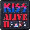 Kiss - Alive II Printed Patch