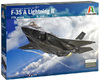 Italeri - 1/72 - F-35 A Lightning II CTOL Version (Plastic Model Kit)