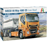 Italeri - 1/24 - Iveco Hi-Way 480 E5 Low Roof (Plastic Model Kit)
