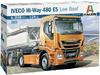 Italeri - 1/24 - Iveco Hi-Way 480 E5 Low Roof (Plastic Model Kit)