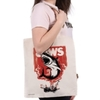 Jaws - Fire Cotton Tote Bag