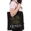 Queen - Crest Cotton Tote Bag
