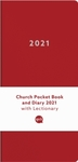 Church Pocket Book and Diary 2021: Red (Hardcover)
