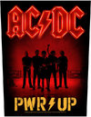 AC/DC - Pwr-up Band Back Patch