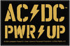 AC/DC - Pwr-up Standard Patch