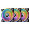 Thermaltake Riing Quad 14 RGB Fan - Black (3 Pack)