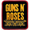 Guns N' Roses - Stacked Woven Patch - Black