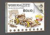 Wooden City: Wooden Figures (Bolid F1 Car) 3D Puzzle - 108 pieces