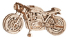 Wooden City: Wooden Figures (Cafe Racer Motorcycle) 3D Puzzle - 85 pieces
