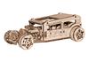 Wooden City: Wooden Figures (Hot Rod Car) 3D Puzzle - 141 pieces