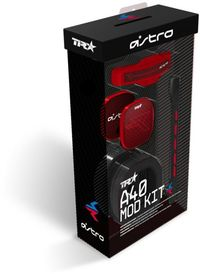 Logitech - A40 TR Gaming Headset Mod Kit - Red