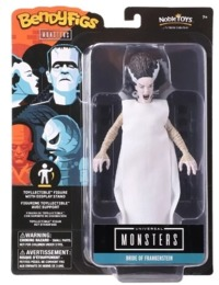 Universal Monsters - The Noble Collection - Bride of Frankenstein BendyFigs Bendable Figurine