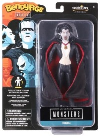 Universal Monsters - The Noble Collection - Dracula BendyFigs Bendable Figurine