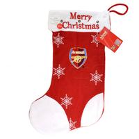 Arsenal - Light up Xmas Applique Stocking