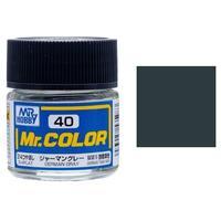 Mr Color - Model Paint - 40 / 1/4 Flat German Gray (10ml)