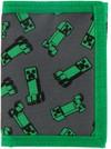 Minecraft - Creeper Crowd - Nylon Tri-Fold Wallet - Green (Wallet)