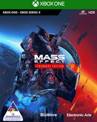 Mass Effect Legendary Edition (Xbox One / Xbox Series X) - Cover