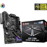 MSI MPG Z490 Gaming Edge Wi-Fi Intel ATX Motherboard - Black