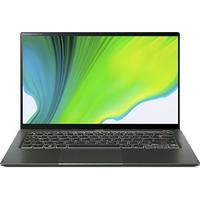 Acer Swift 5 SF514-55T-53R3 i5-1135G7 8GB RAM 512GB SSD CAM WiFi BT FPR BL Win 10 Home 14 inch Touch Green Notebook (11th Gen)
