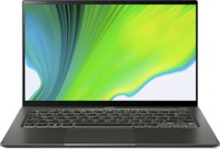 Acer Swift 5 SF514-55T-53R3 i5-1135G7 8GB RAM 512GB SSD CAM WiFi BT FPR BL Win 10 Home 14 inch Touch Green Notebook (11th Gen) - Cover