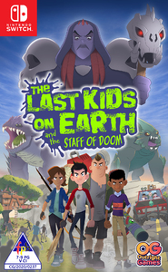 The Last Kids on Earth and the Staff of Doom (Nintendo Switch) - Cover