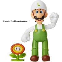 """Nintendo - 4"""" Articulated Fire Luigi Figure"""