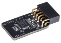 Gigabyte - TPM (Trusted Platform Module) module for Gigabyte MB - intel 400 series/Z390-M-GAMING / AMD 550 series / GA-AB350M-DASH - Cover